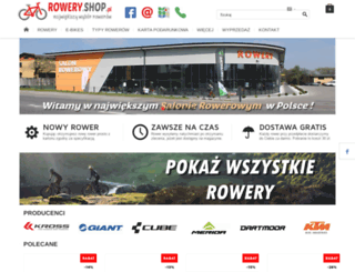 rowery.shop.pl screenshot