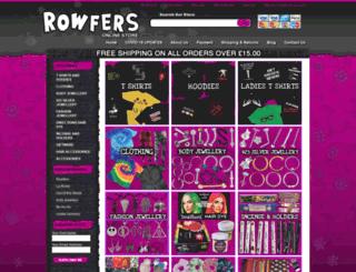 rowfers.co.uk screenshot