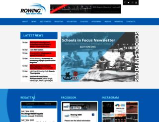 rowingnsw.asn.au screenshot