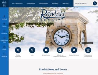 rowletttx.org screenshot