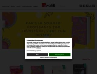 rowohlt.de screenshot