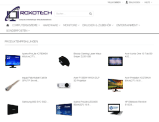 roxotech.de screenshot