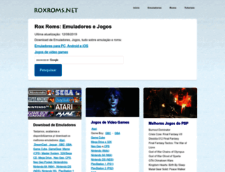 roxroms.net screenshot