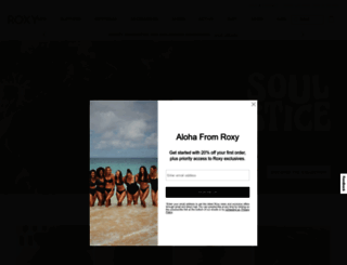 roxy.com screenshot