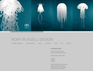 roxyrussell.com screenshot