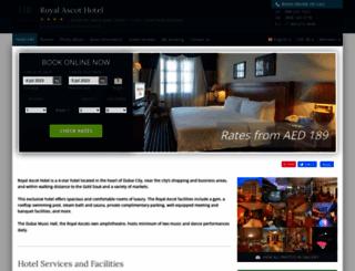 royal-ascot-dubai.hotel-rez.com screenshot