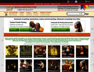 royal-painting.com screenshot