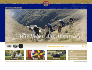 royal-rangers.de screenshot