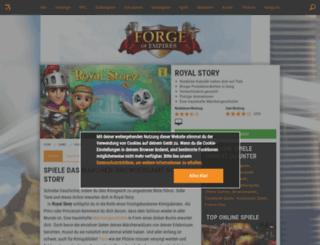 royal-story.browsergames.de screenshot