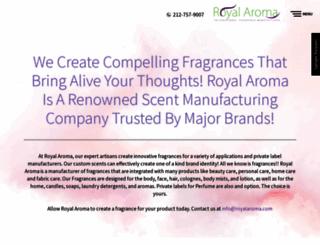 royalaroma.com screenshot