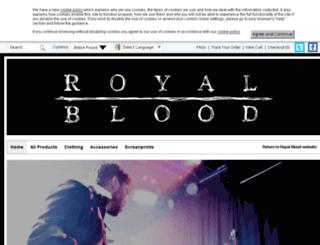 royalblood.firebrandstores.com screenshot