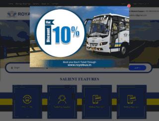 royalbus.in screenshot