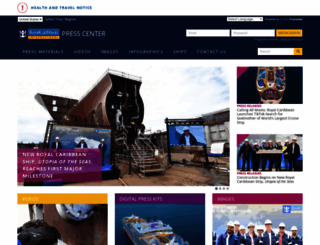 royalcaribbeanpresscenter.com screenshot