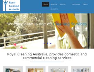 royalclean.net.au screenshot