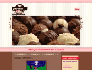 royalefondant.blogspot.com screenshot