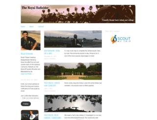 royalenfielder.wordpress.com screenshot