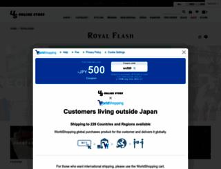 royalflash-jp.com screenshot