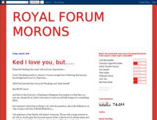 Royal Moron Forum at top accessify com