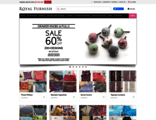 royalfurnish.com screenshot