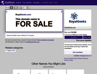 royalgeeks.com screenshot