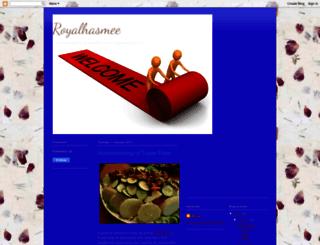 royalhasmee.blogspot.com screenshot
