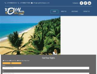royalholidayzz.com screenshot