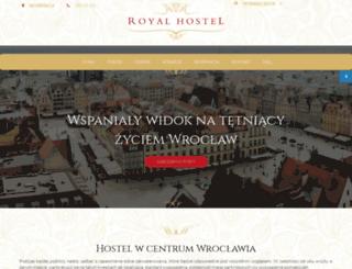 royalhostel.pl screenshot