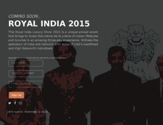 royalindia.ae screenshot