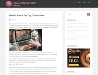 royalinfoservice.com screenshot