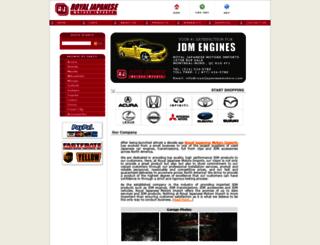 royaljapanesemotors.com screenshot