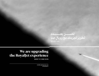 royaljetgroup.com screenshot