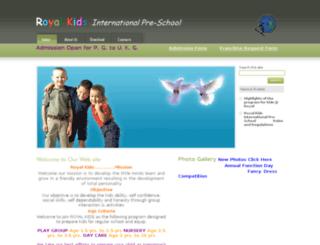 royalkidsschool.in screenshot