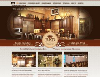 royalkitchendesigns.com screenshot