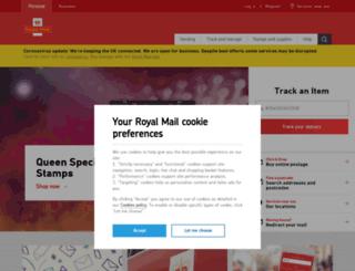 royalmail.co.uk screenshot