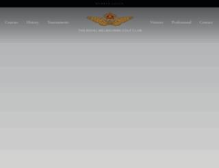 royalmelbourne.com.au screenshot