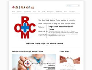 royaloakmedical.co.nz screenshot