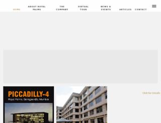 royalpalmsindia.com screenshot