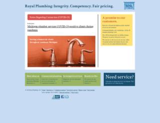 royalplumbing.net screenshot