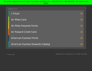 royalpoints.com screenshot