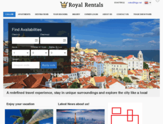 royalrentals.kigo.net screenshot