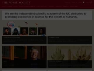 royalsociety.org screenshot