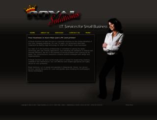 royalsolutions.com screenshot