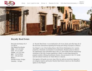 royalty-realestate.com screenshot