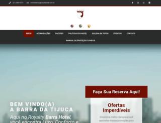 royaltyhotel.com.br screenshot