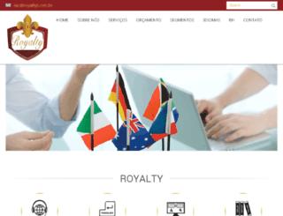 royaltyt.com.br screenshot