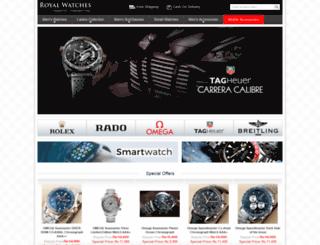 royalwatches.pk screenshot