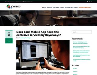 royalwaystech.blogspot.in screenshot