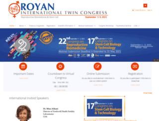 royancongress.com screenshot