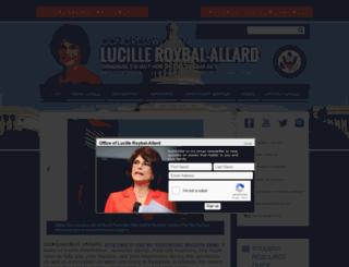 roybal-allard.house.gov screenshot