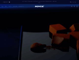 royceconfectusa.com screenshot